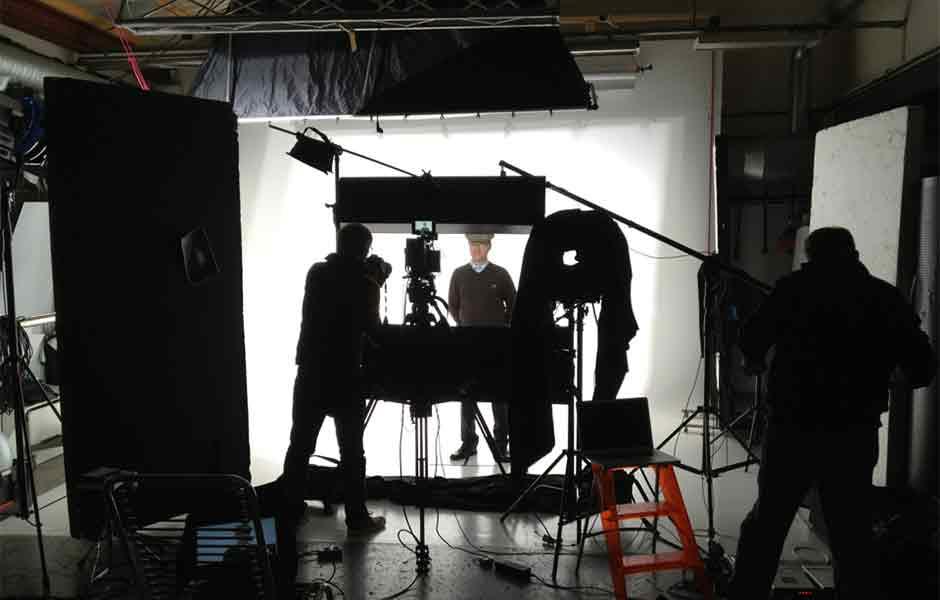 Filmproduksjon studio