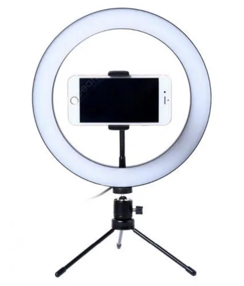 Ringlight, vlogger, lys, bicolour